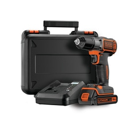 BLACK+DECKER - FR 18V Drill Driver with AutoselectAutosense Technology - ASD18K