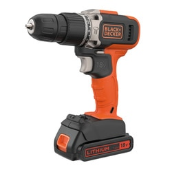 Black and Decker - 18V Lithiumion 2 Speed Hammer Drill with 1x 15Ah Battery and 400mA Charger - BCD003C1