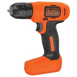 Black and Decker - DE 72V Liion drill driver in kitbox - BDCD8K