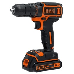 BLACK+DECKER - FR 18V Drill Driver - BDCDC18KB