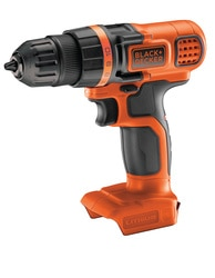 BLACK+DECKER - Perceuse sans fil Lithium 18V Batterie et chargeur non inclus - BDCDD18N