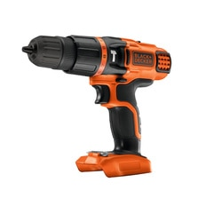 BLACK+DECKER - Perceuse sans fil  percussion 18V Batterie et chargeur non inclus - BDCH188N