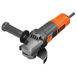 BLACK+DECKER - 900W 115mm Angle Grinder With Kit Box - BEG210K