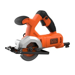 Black and Decker - Mini sega circolare 400W  85mm in valigia - BES510K