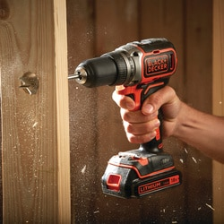 BLACK+DECKER - 18V Lithiumion Brushless 2 Gear Drill Driver  400mA charger - BL186
