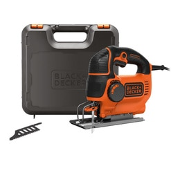 Black and Decker - Seghetto alternativo 620W ad azione pendolare in valigetta con 2 lame - KS901PEK