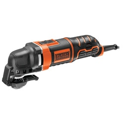 Black and Decker - 300W Multifunktionswerkzeug mit SuperLokTM SchnellspannSystem - MT300KA
