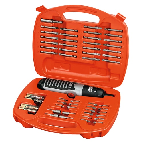 Black and Decker - 54tlg BatterieStabschrauberset - A7071