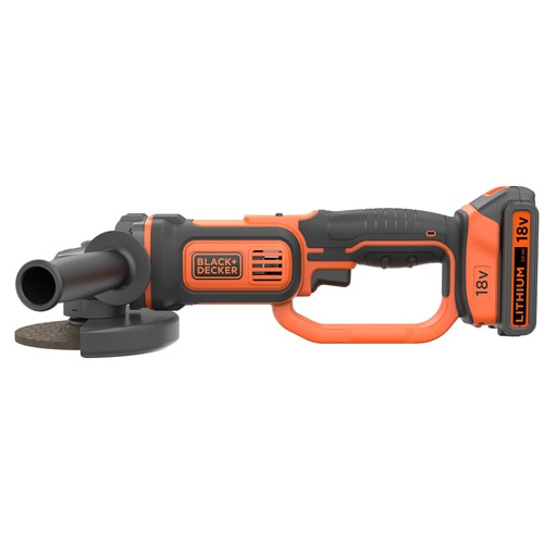 Black and Decker - 125 mm 18V Akku Winkelschleifer - BCG720M1