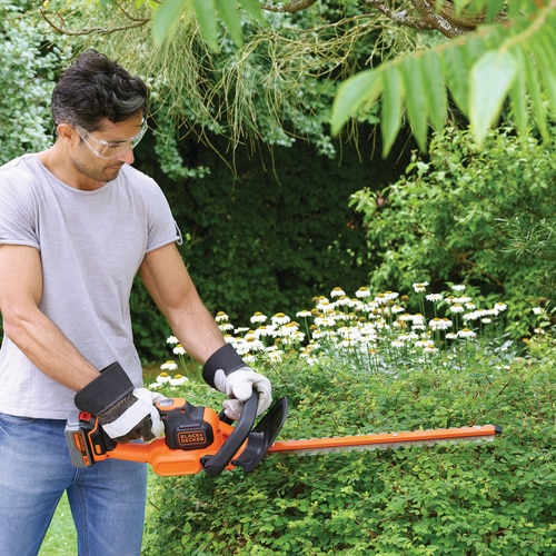 Black and Decker - 18V40Ah POWERCOMMAND 50cm AkkuHeckenschere - GTC18504PC