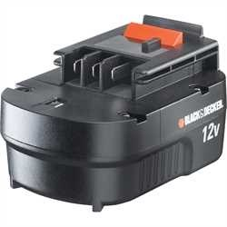 Black and Decker - DE 12V Slide pack battery - A12