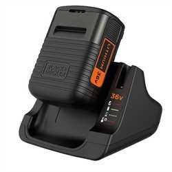 Black And Decker - DE 36V 20Ah Lithium Ion Battery  Charger - BDC2A36