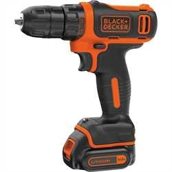 Black and Decker - 108V Ultrakompakt LiIon Bohrschrauber - BDCDD12K