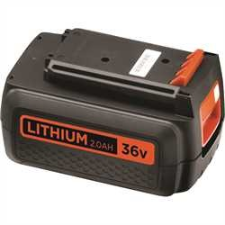 Black And Decker - DE 36V 20Ah Lithium Ion Battery - BL2036