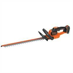 Black and Decker - 50CM 18V Lithiumion POWERCOMMAND Hedge Trimmer with smart tech - GTC18502PST