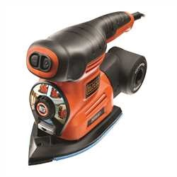 Black and Decker - Autoselect 4in1 Multischleifer im Koffer - KA280K