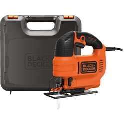 Black and Decker - 520W ElektronikPendelhubstichsge im Koffer - KS701PEK