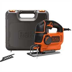 Black and Decker - 620W ElektronikPendelhubstichsge im Koffer - KS901PEK