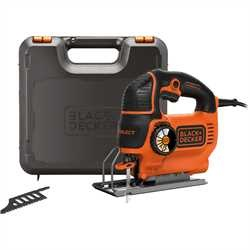 Black and Decker - 620W Autoselect Pendelhubstichsge im Koffer - KS901SEK