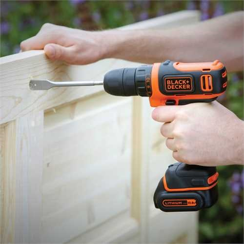 Black And Decker - DE 12V Lithiumion drill driver - BDCDD12