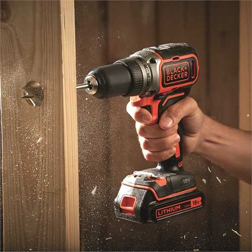 Black and Decker - 18V Lithiumion Brushless 2 Gear Drill Driver without Battery - BL186N