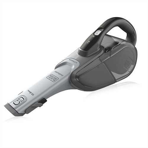 Black and Decker - 108Wh Dustbuster Lithium Cyclonic Action - DVJ215B