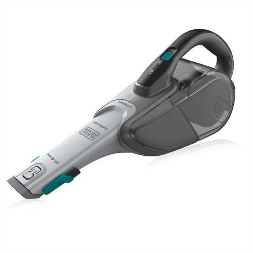 Black and Decker - 216Wh Dustbuster Lithium Cyclonic Action - DVJ320B