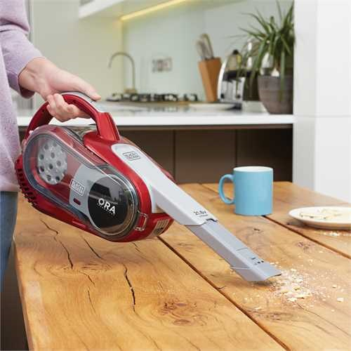 Black and Decker - 216V Lithium Hand und Bodensauger mit ORA Technologie - HVFE2150LR