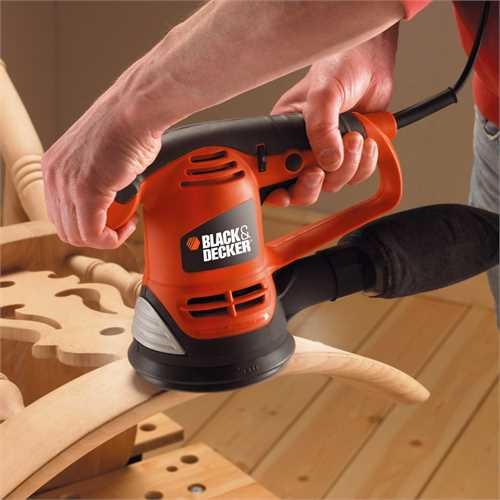 Black and Decker - 480W Exzenterschleifer - KA191EK