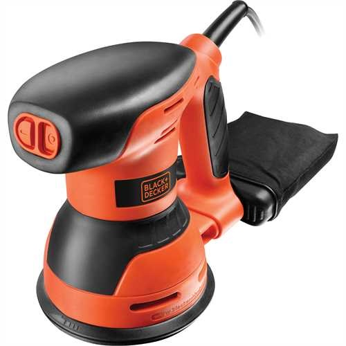 Black and Decker - 260W Exzenterschleifer - KA198