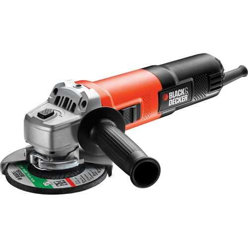 Black and Decker - 750W 125mm EinhandWinkelschleifer - KG751