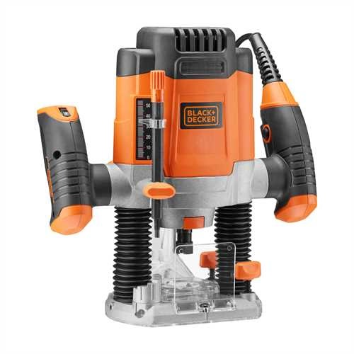 Black and Decker - Elektronik Oberfrse - KW1200E
