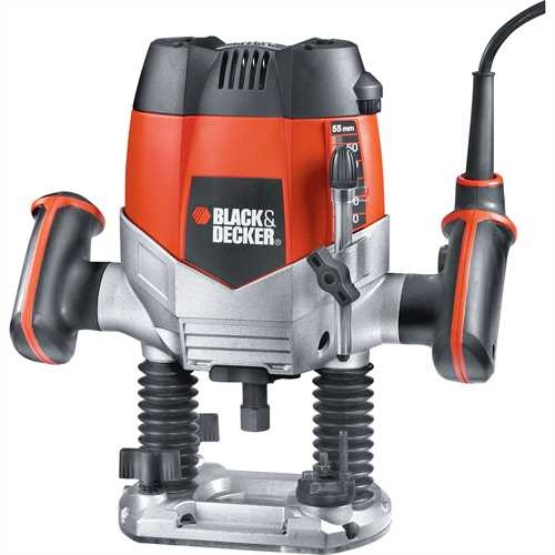 Black and Decker - 1200W Leistungsstarke Oberfrse - KW900E