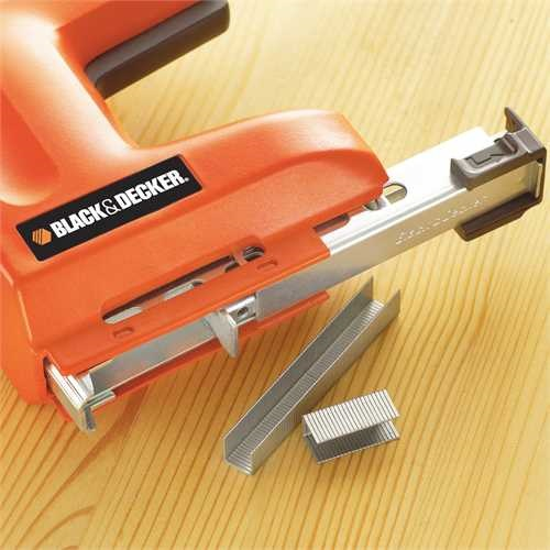 Black and Decker - 1500 Watt ElektroTacker fr mittlere KlammerNagelgren - KX418E