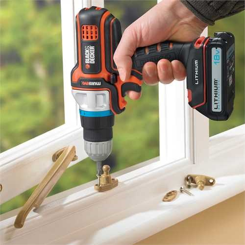 Black and Decker - 18V LiIonen AkkuMultifunktionswerkzeug Multievo - MT18KB