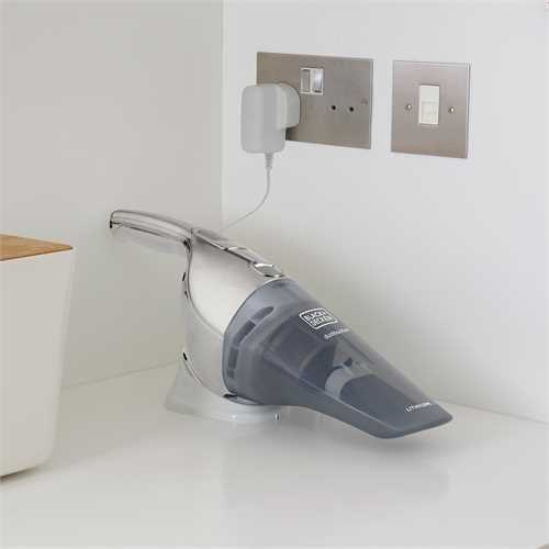 Black and Decker - 144Wh  72V Dustbuster Lithium - NVB220WC