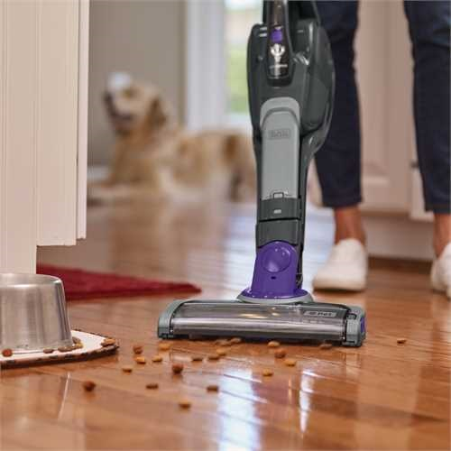 Black and Decker - 36Wh 2in1 SmartTech Pet AkkuStielsauger Lithium mit Duft - SVJ520BFSP